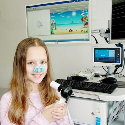 spirometrija s motivacijskim pročeljem za djecu